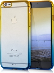 KW Crystal TPU Silicone Blue/Yellow (iPhone 6/6s)