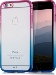 KW Crystal TPU Silicone Blue/Hot Pink (iPhone 6/6s)