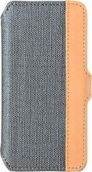 Melkco Sampu Leather Book Case Grey-Brown (iPhone 5/5s/SE)