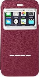 Melkco Face S-View Book Case Red (iPhone 6/6s)
