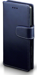 Terrapin Leather Wallet Blue (Xperia X)
