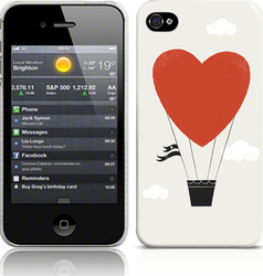 Call Candy Heart Hot-Air Balloon (iPhone 5/5S/SE)