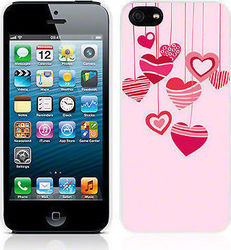 Call Candy Hearts Pink (iPhone 5/5S/SE)