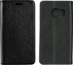 OEM Forcel Magnet Wallet Case Θήκη Πορτοφόλι με δυνατότητα Stand Black (Samsung Galaxy S7 Edge)