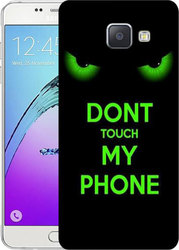 Art Telecom Back Cover Dont Touch my Phone (Galaxy A5 2016)