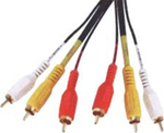 Top Electronic AV Cable 3x RCA male - 3x RCA male 3m (Q020G)