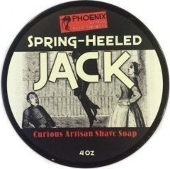 Phoenix Artisan Accoutrements Spring Heeled Jack Shaving Soap 114gr