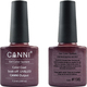 Canni Nail Art Color Coat 196 Plum Nacre