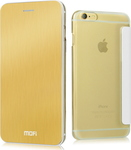 OEM Book Case Mofi Aluminium Gold (Apple iPhone 6 Plus)
