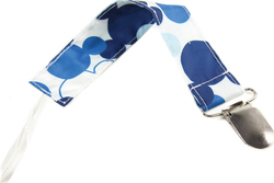Bumkins Pacifier Clip Mickey Mousse Blue