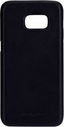 Agna iPlate Real Leather Black (Samsung Galaxy S7)