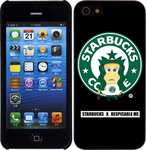 OEM Ultra Slim 0.3mm Starbucks Minions (Apple iPhone 5S)