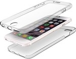 OEM Ultra Slim 0.3mm TPU διπλή Front Back Transparent (Apple iPhone 5S)