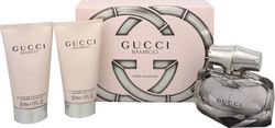 Gucci Bamboo Eau De Parfum 50ml & Shower Gel 50ml & Body Lotion 50ml