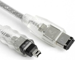 OEM FireWire Cable 4-pin male - 6-pin male 2m (ML0028)