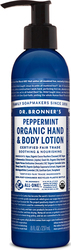 Dr. Bronner's Organic Peppermint Hand & Body Lotion 237ml