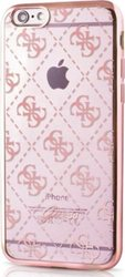Guess Faceplate Rose Gold Transparent (iPhone 6/6s)