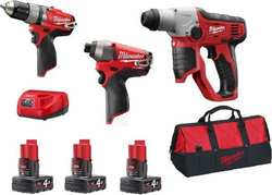 Milwaukee M12 SET3D-402B