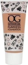 W7 Cosmetics Outdoor Girl Flawless Flawless Foundation Natural Beige 30ml