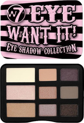 W7 Cosmetics Eye Want It! Eye Shadow Collection