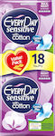 Every Day EveryDay Sensitive with Cotton Maxi Night Ultra Plus Value Pack 18τμχ