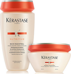 Kerastase Nutritive Bain Magistral 250ml & Masque Magistral 200ml