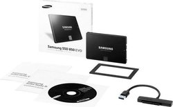Samsung 850 EVO 1TB with SATA to USB 3.0 connector
