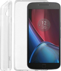 Idol 1991 Ultra Thin TPU 0.3mm Διάφανο (Moto G4/G4 Plus)