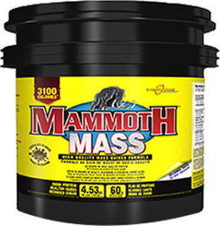 InterActive Nutrition Mammoth Mass 4530gr Μπανάνα
