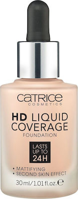 Catrice Cosmetics HD Liquid Coverage Foundation 010 Light Beige 30ml
