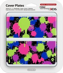 Nintendo Cover Plate 060 Splatoon New 3DS