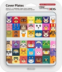 Nintendo Cover Plate 027 Animal Crossing HHD New 3DS