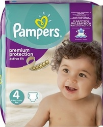 Pampers Active Fit No 4 (8-16kg) 24τμχ