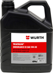 Wurth Triathlon Endurance III 5W-30 5lt