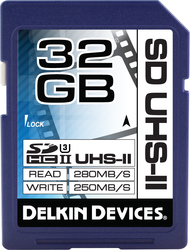 Delkin Cinema SDHC 32GB U3