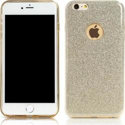 Remax Back Cover Μοτίβο Glitter Gold (iPhone 6/6s Plus)