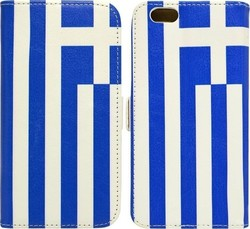 Ancus Book Greek Flag (iPhone 5/5s/SE)