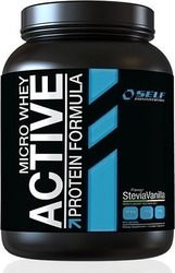 Self Omninutrition Micro Whey Active 1000gr Stevia Βανίλια