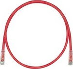 Panduit U/UTP Cat.6 Cable 1m Κόκκινο (NK6PC1MRDY)