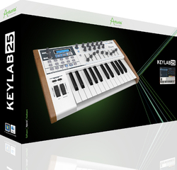 Arturia Keylab 25 + V. Collection Full Bundle