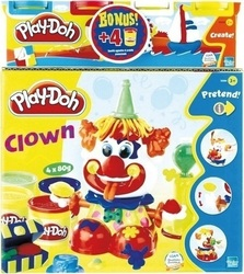 Hasbro Play Doh Clown 4x80gr & Bonus 4x80gr
