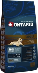 Ontario Adult Low Activity Lamb 13kg