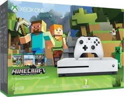 Microsoft Xbox One S 500GB & Minecraft Favorites
