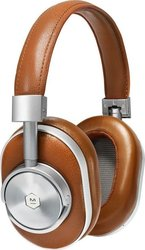Master & Dynamic MW60 Silver Metal Brown