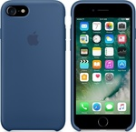 Apple Silicone Case Ocean Blue (iPhone 7)
