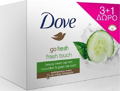 Dove Soap Fresh Touch 4x100gr