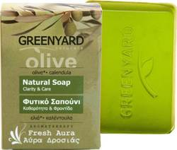 Greenyard Natural Soap Fresh Aura Olive & Calendula 100gr