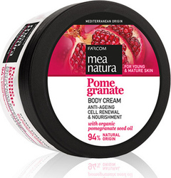 Farcom Mea Natura Pomegranate Body Cream 250ml