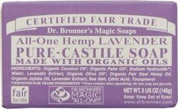 Dr. Bronner's Pure-Castile Bar Soap All in One Hemp Lavender 140gr