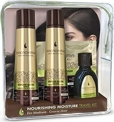 Macadamia Nourishing Moisture Shampoo 100ml & Conditioner 100ml & Oil Treatment 30ml & Masque 30ml